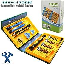 Acenix®-Set professionale di attrezzi per iPhone 5S, 5C, 5, 4S, 4, iPad Air, iPad 4, (2010 Radar)