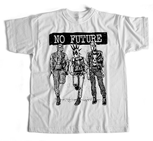 T-Shirt No Future S-4XL Spiderman Marvel DC Comic Kult Deadpool Ironman - Deadpool Machen