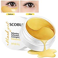 Maschera per gli occhi, Maschera d'occhio del collagene, Eye Mask, collagene rilievi dell'occhio, Crystal Gold Collagen Eye Mask, D'oro Eye Masks Anti-rughe ed anti-età