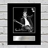 Iconic pics Paul McCartney signiert Foto mit