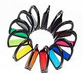 Steigbügel Kunststoff Compositi Kunststoff-Steigbügel, 12 cm, mit farbiger Einlage, Compositi Profile Steigbügel