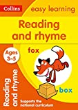 Reading and Rhyme Ages 3-5: Collins Easy Learning (Collins Easy Learning Preschool)