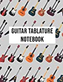 Guitare Tablature Notebook: Guitar Tablature Blank Notebook | 140 pages, 8.5x11 inches | Gift for guitarist
