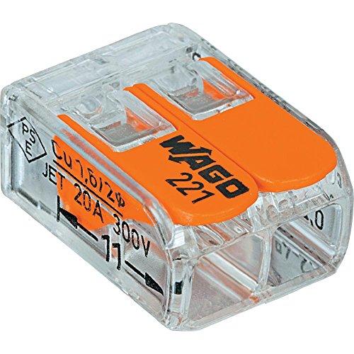 Set 10Schraubklemmen WAGO Serie 2212Kontakte mit Hebel 0,2–4mm2 - 2