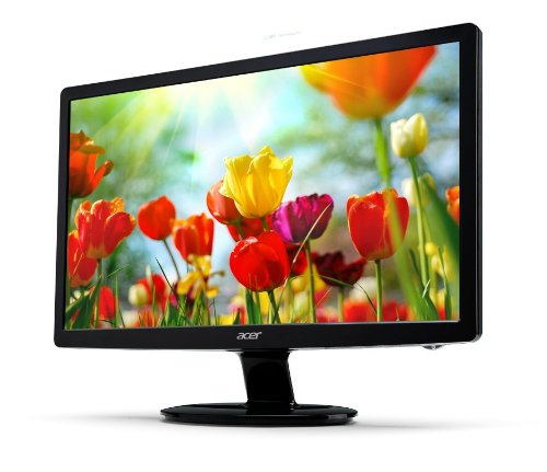 Acer S271HLCbid 27 inch Widsescreen LED Monitor (16:9, 300 cd/m2, 100M:1, 1920 x 1080, 6ms, HDMI)
