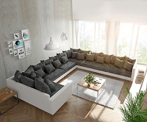 Couch Clovis Modular Ecksofa Sofa Wohnlandschaft Modulsofa