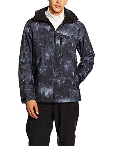 O' Neill PM Proton giacca da sci, Uomo, PM PROTON JACKET, Nero - Black AOP, S