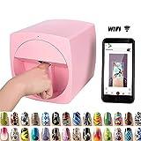 Multifonction Portable Imprimante Nail Art Imprimante Machine Transfert Photo Machine...