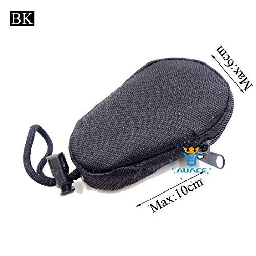 Multifunktions Mini Survival Gear Tactical Beutel MOLLE POUCH Coin Schlüssel Pouch, Outdoor Camping Tragbare Travel Bags Handtaschen Werkzeug Taschen Taille Tasche BK