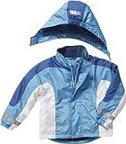 Playshoes Jungen Schneeanzug Schnee-Jacke hellblau/Marine, Blau (original 900), (Herstellergröße: 104)