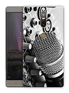 "Humor Gang microphone dj life Printed Designer Mobile Back Cover For ""Lenovo Phab 2 Plus"" (3D, Matte Finish, Premium Quality, Protective Snap On Slim Hard Phone Case, Multi Color)"