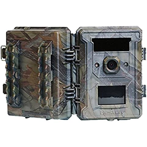 [ Set Especial ] Bestok M660G 120° Digital Infrarrojos Rastro Caza Camara 12MP cámara impermeable Pantalla de 2.36 pulgadas LCD visión nocturna al aire libre con Tarjeta SD