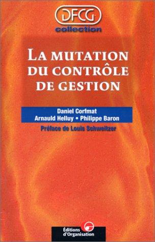 La mutation du contrôle de gestion