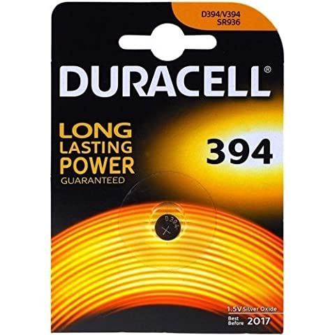 Duracell 394 1.55v Silver Oxide Watch Battery
