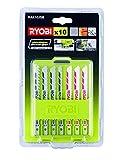 Ryobi 10-teilig Stichsägeblattset, 5132002702