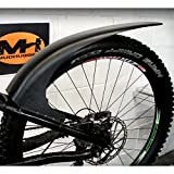 Mudhugger MTB achterspatbord voor ophanging mountainbike - 69,8 cm 73,7 cm
