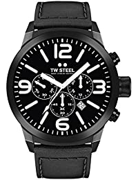 TW Steel Marc Coblen Edition Chrono mit Lederband 45 MM Black/Black TWMC42
