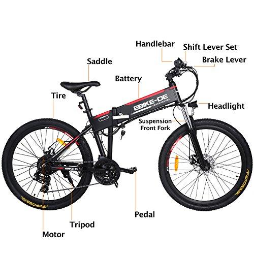 Buyi-World Elektrofahrrad Mountainbike Bild 2*