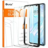 KuGi. pour Verre trempé Huawei P30, [Dureté 9H] HD Ultra Transparent Protection écran en Verre trempé pour Huawei P30 (Pack de 2)