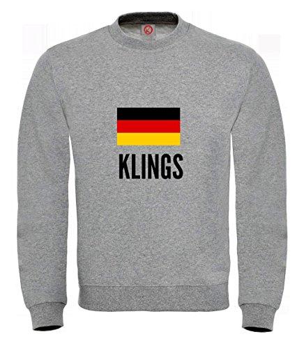 Felpa Klings city Gray