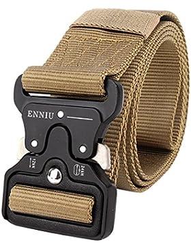 Freahap Tactical Rigger Cinturon Ajustable Correas Rappel Batalla Equipo Militar Pesado Banda