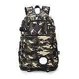 ZLXING Rucksack Herren mit ergonomischem Design, Premium Laptop Rucksäcke für 15,6 Zoll Notebook, Backpack/Schulrucksack/Daypack für Männer und Damen M141