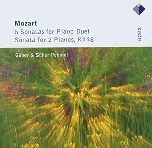 Mozart: 6 Sonatas For Piano Duet & Sonata For 2 Pianos, K448