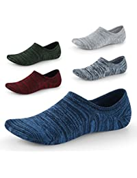 ccad4dacce3a No Show Socks for Men Women-Low Cut with Non Slip Grip-Invisible Socks for  Boat Shoes Oxfords Loafers Sneakers Leather Shoes UK…