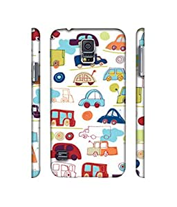 NattyCase Transport Pattern Design 3D Printed Hard Back Case Cover for Samsung Galaxy S5 i9600