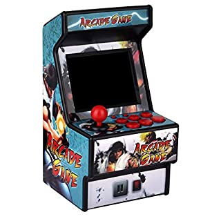 Mini Arcade Game Machine RHAC01 2.8Inch 156 Classic Handheld Games Portable Machine for Kids with Eye-Protected Screen(ENGLISH ONLY)