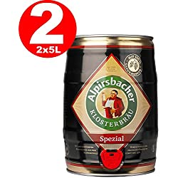 2 x Alpirsbacher especial - barril de 5 litros 5,2% vol.