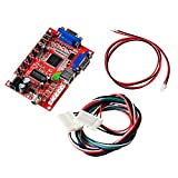Mcbazel Arcade Game VGA to CGA RGBS/CVBS/S-VIDEO Video Converter Board With 5 Pin RGB Cable