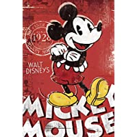 GB eye 61 x 91.5 cm Mickey Mouse Red Maxi Poster, Assorted