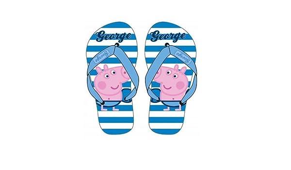 Flip Flops George gestreift hellblau und weiß 27/28 3oZoZpxW1q