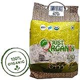 Just Organik Rice Poha 500gm, 100% Organic, GMO Free, Chemical Free, Pesticide Free, USDA Certified
