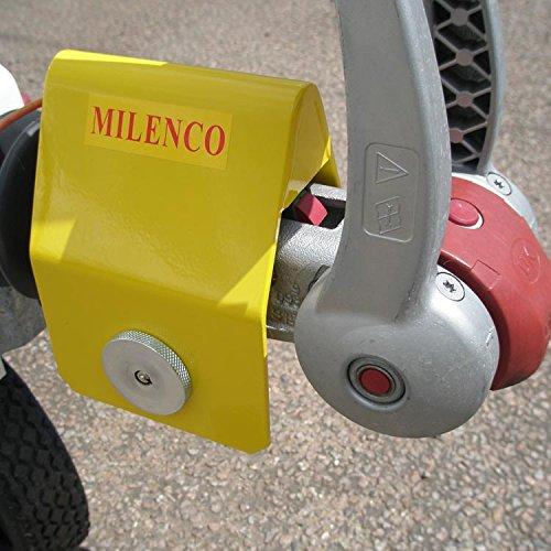Milence strapazierfähiges WS3000Schloss für Anhängerkupplungen Winterhoff
