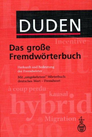 Duden Das große Fremdwörterbuch, m. CD-ROM