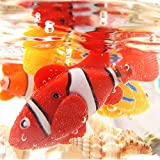 Katze Spielzeug, 4 STÜCKE Elektrische Künstliche Bewegung Fische Katze Necken Spielzeug Kätzchen Spielzeug - 6