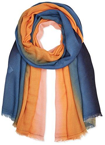PIECES Damen Schal Pcsiw Long Scarf Mehrfarbig (Navy Blazer Navy Blazer), One size