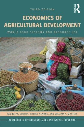 PDF][Download] Economics of Agricultural Development: World