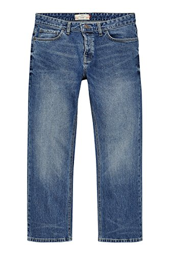 next Homme Loose Fit Jean Stretch Bleu