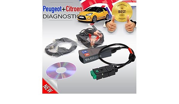 Lexia 3 Citroen Peugeot Diagnostic Interface Pp2000 V50 V25 Diag Box 7 83 Obd N Chsten Day Delivery In Uk Auto