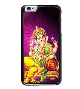 FUSON Lord Ganesha On Sinhasan Designer Back Case Cover for Apple iPhone 6s Plus :: Apple iPhone 6s+