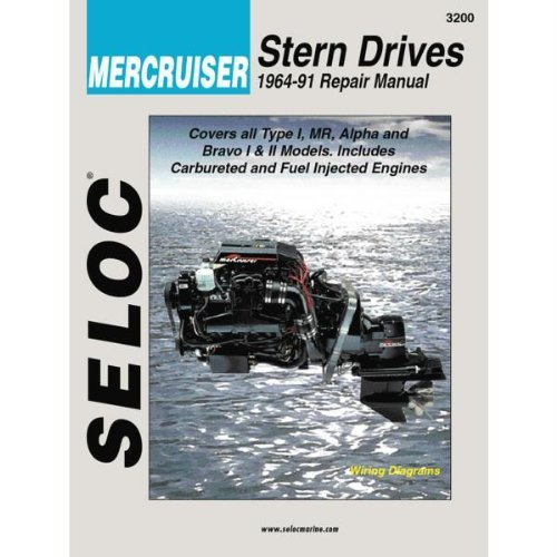 Mercruiser Engine & Stern Drive Repair Manual, VOL I, 1964-1991 by SELOC MARINE MANUALS -