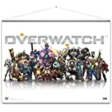 Póster Wallscroll/Rollo de pared Overwatch - Heroes