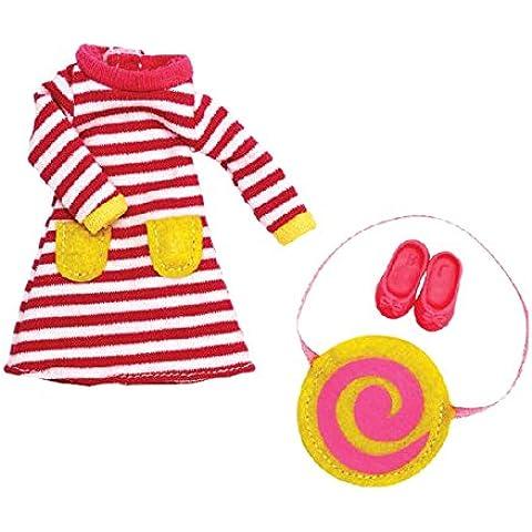 Helado de frambuesa - Conjunto de ropa para muñeca Lottie