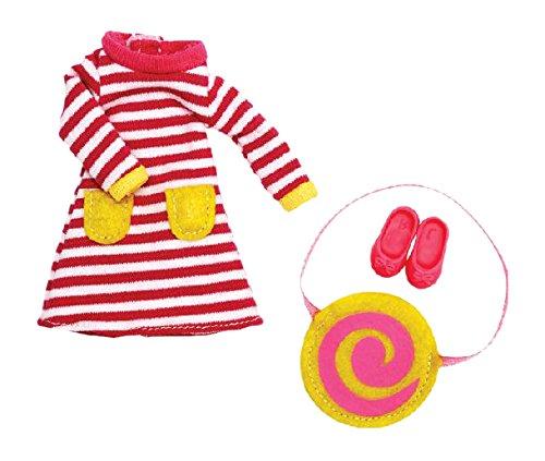 Lottie Kleidung für Puppe LT040 Raspberry Ripple Outfit Set - Puppen Zubehör Kleidung Puppenhaus Spieleset - ab 3 Jahren
