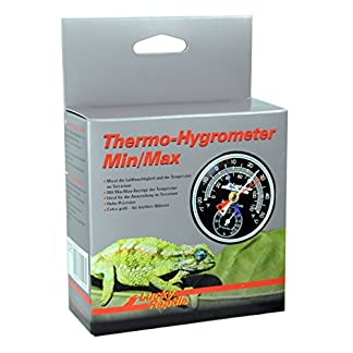 Lucky Reptile LTH-23 Thermometer Hygrometer Minimum/Maximum 19