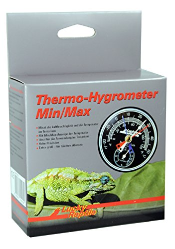 Lucky Reptile LTH-23 Analoges Thermo-Hygrometer Min/Max