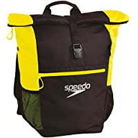 Speedo Unisex Adults' Rucksack Team III Plus AU Bag-Magenta/Oxide Grey/Fluorescent Yellow, One Size